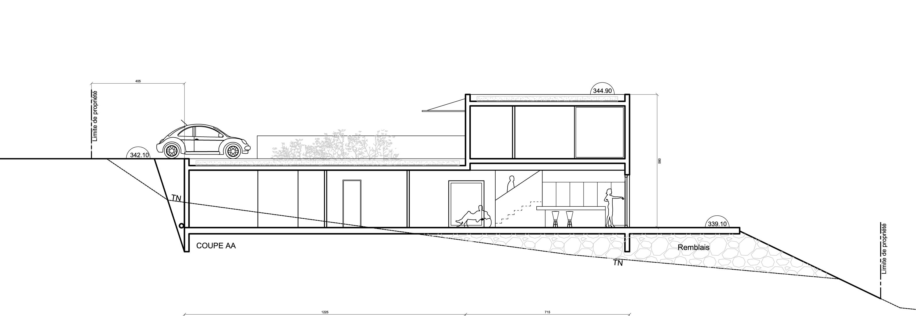 plan maison Nyons