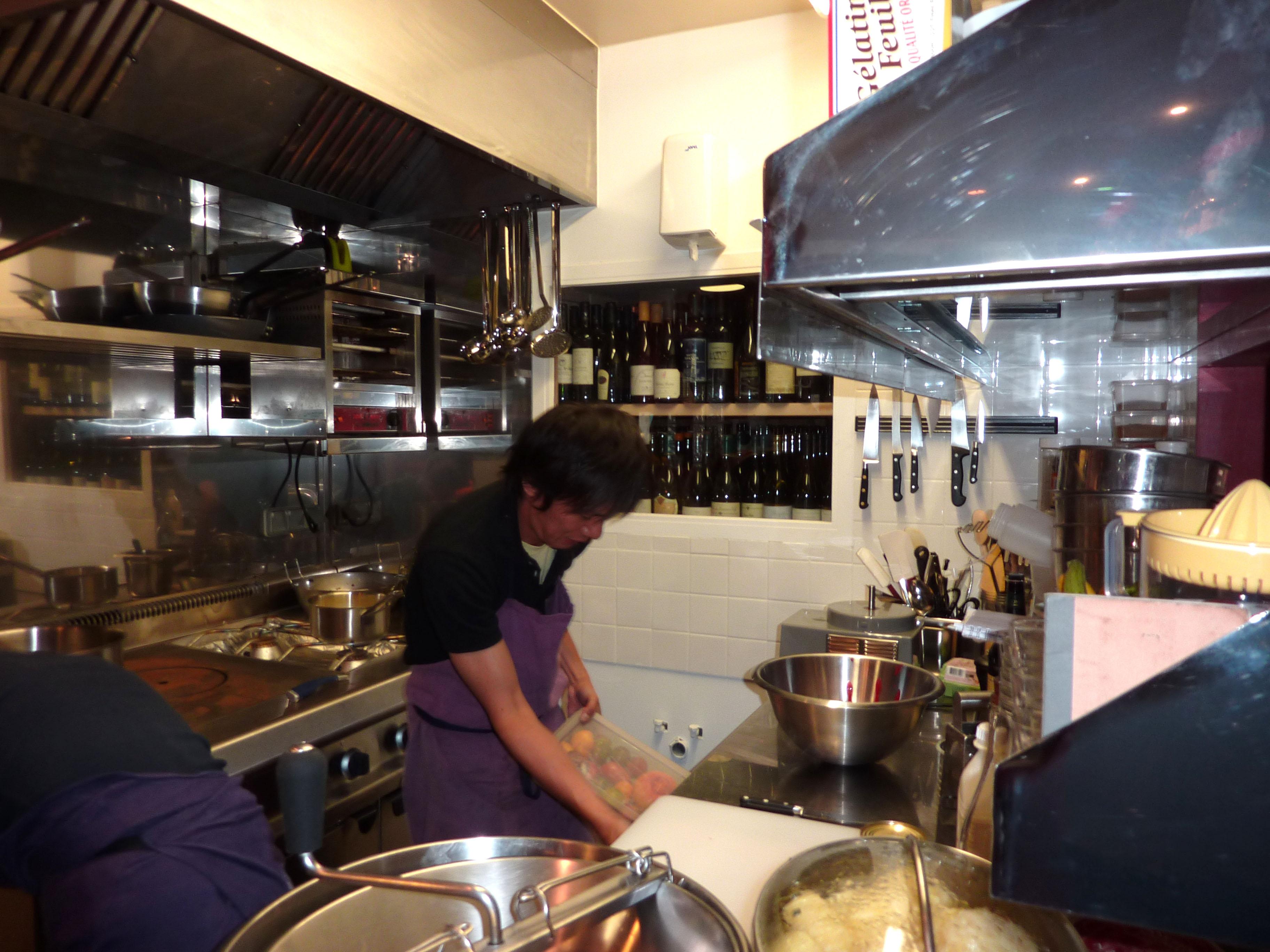 Restructuration et création d'une cuisine /// Le Verre Volé - Paris