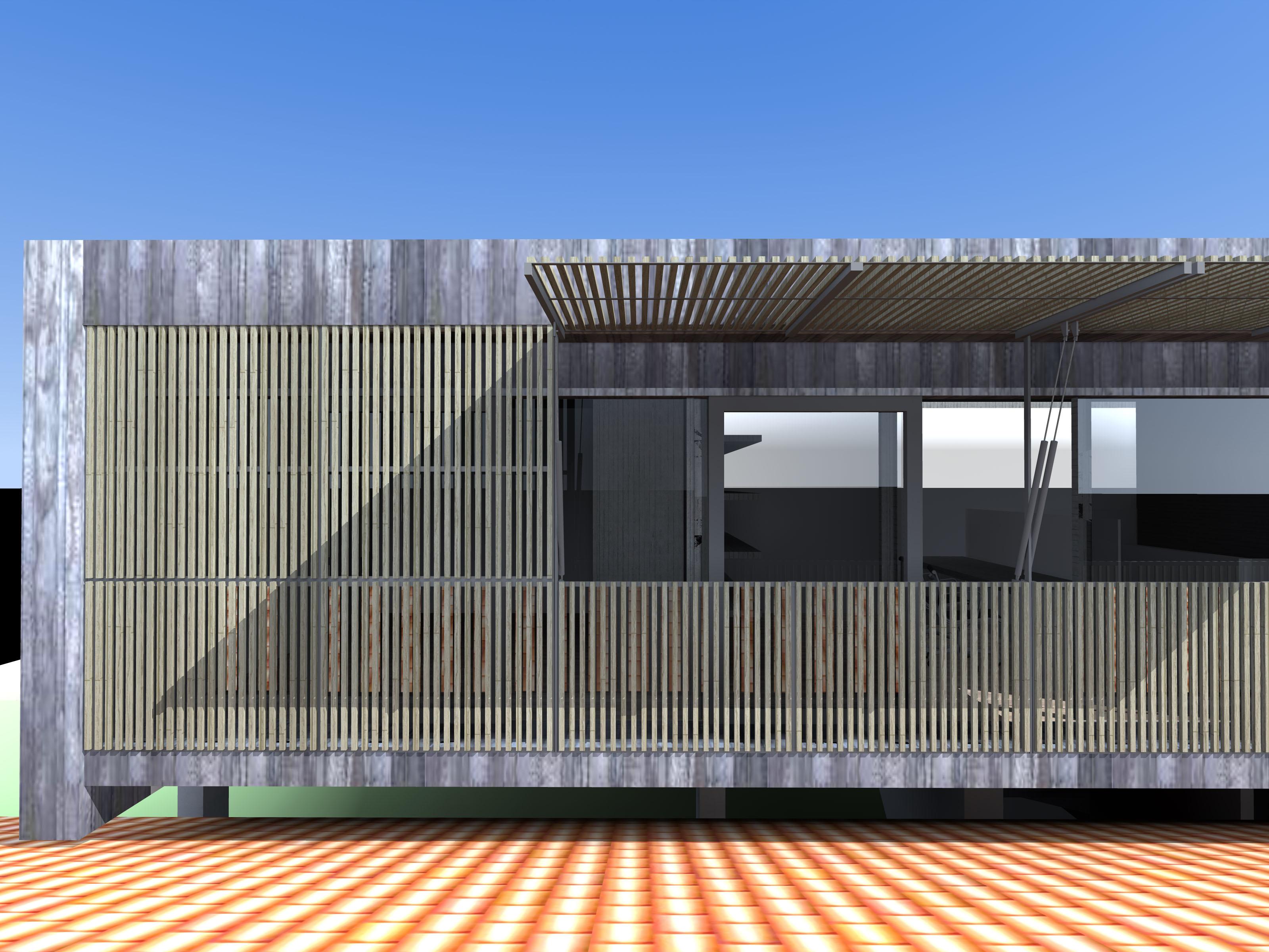 Extension Contemporaine Pour Une Maison Individuelle Dans La Dr Me 26 Blau Architectes