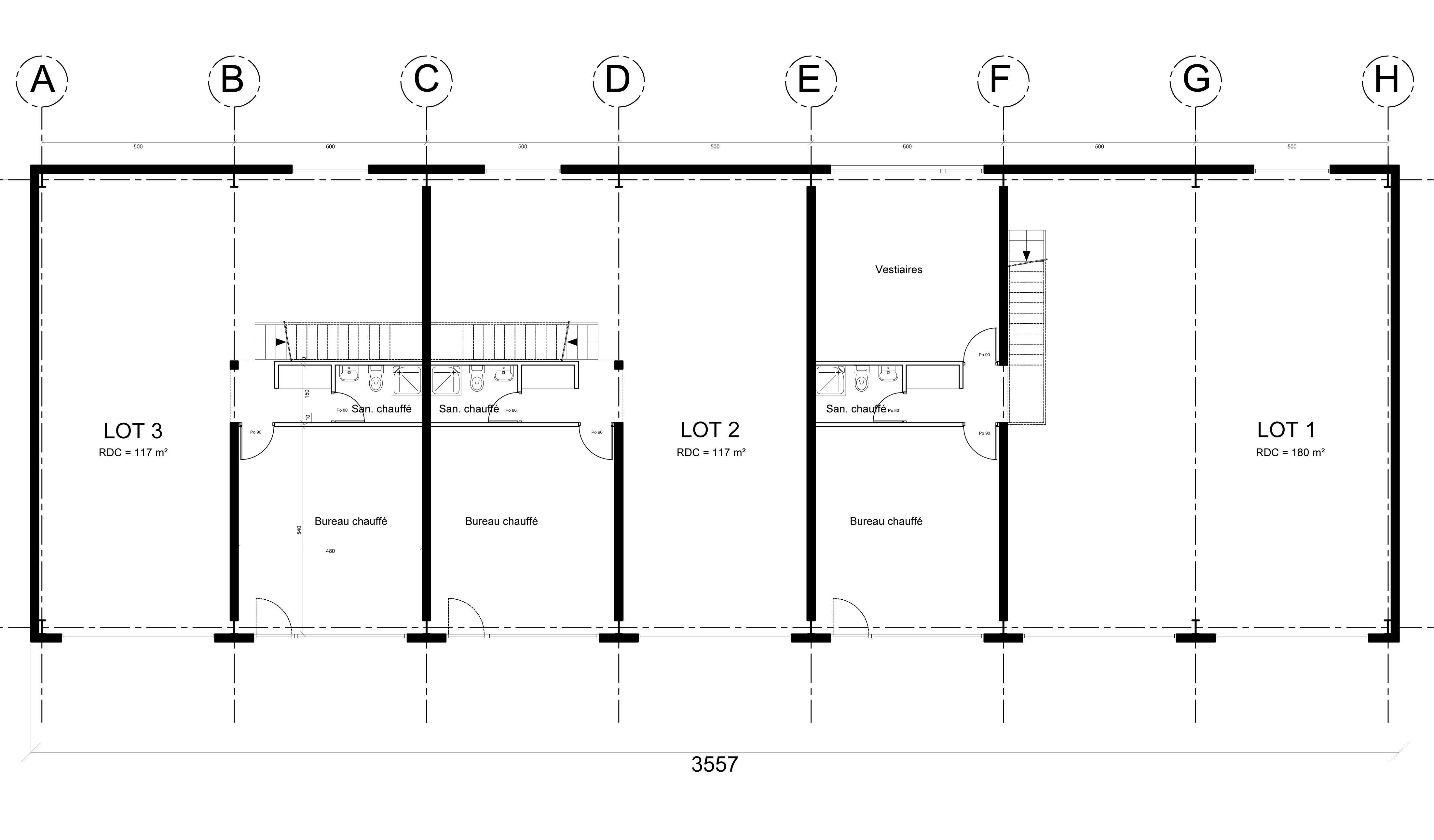 Création d'un bâtiment artisanal /// Vaison la Romaine (84)