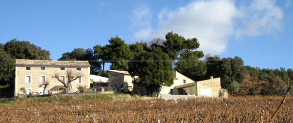 rehabilitation d'un mas en Provence