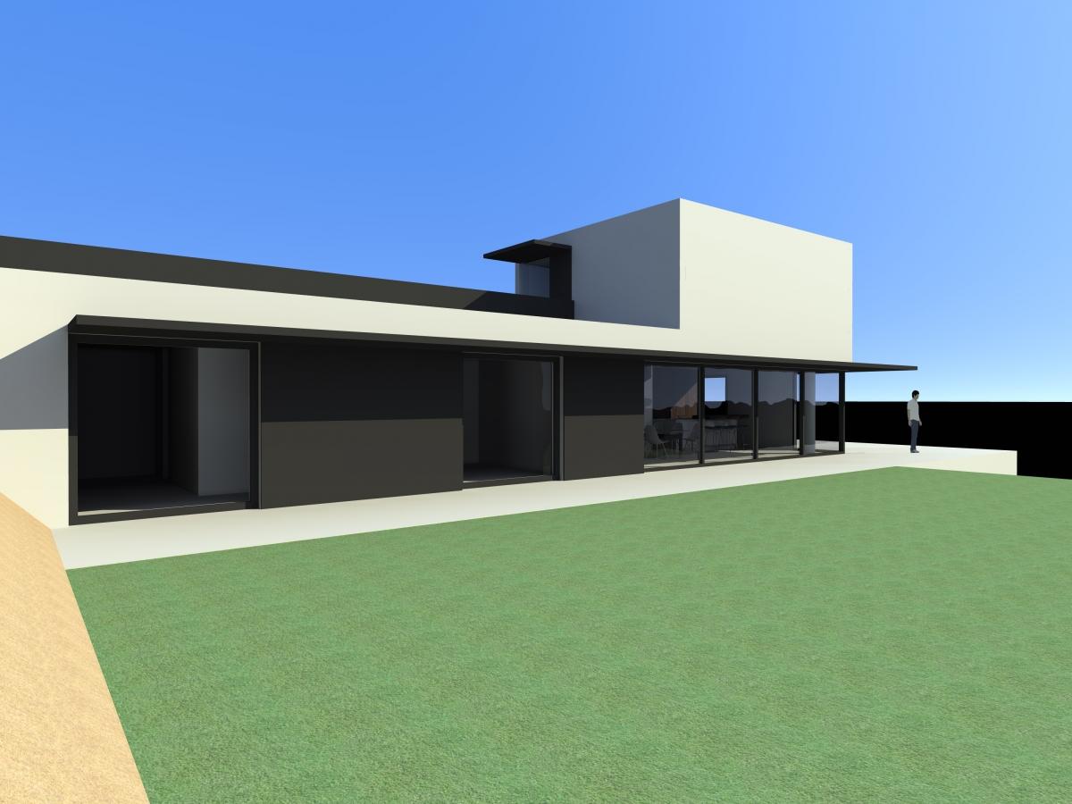 Cr Ation D Une Maison Contemporaine Nyons 26 Dr Me Blau Architectes