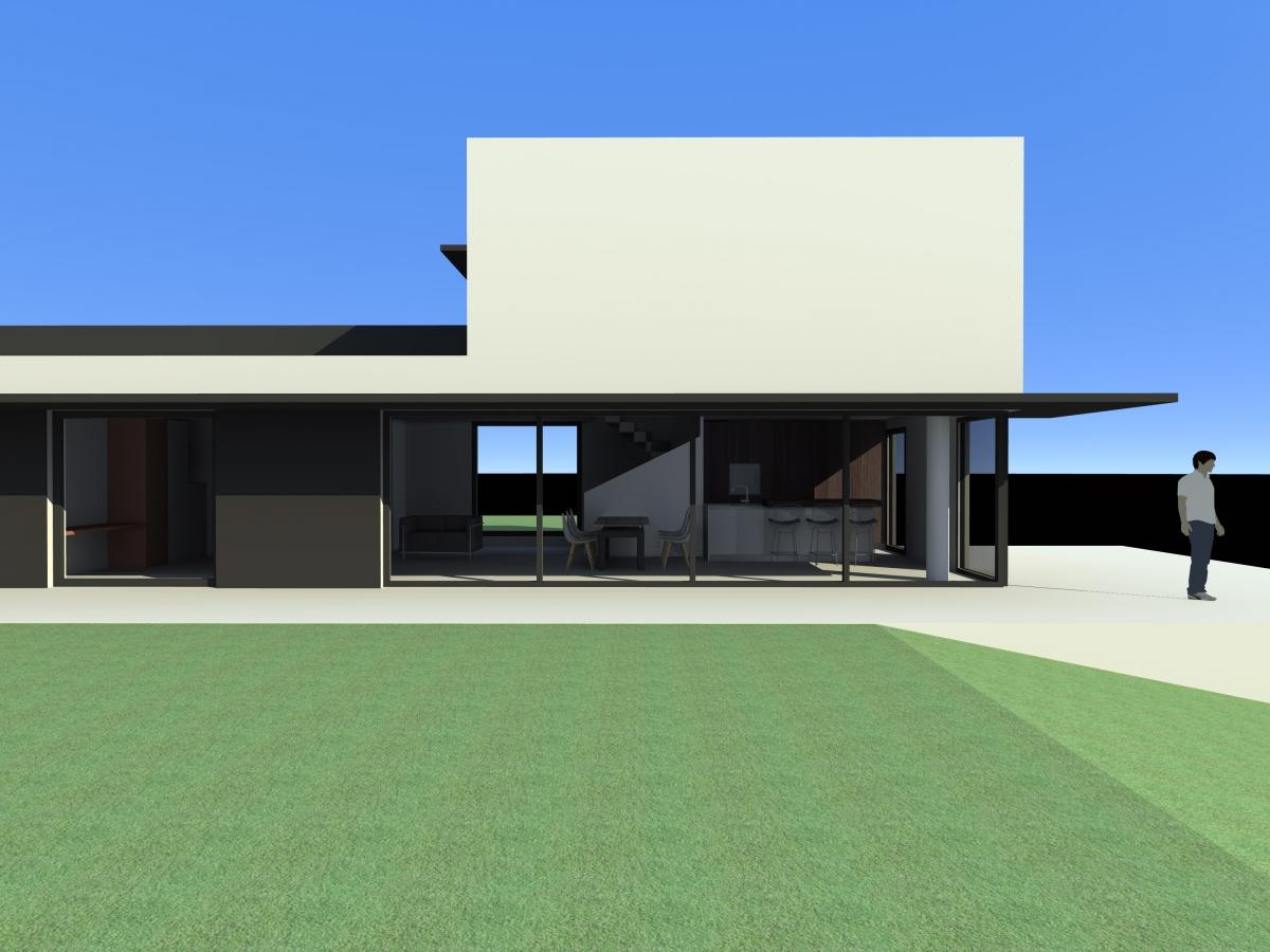 Cr ation d une maison contemporaine nyons 26 dr me for Architecte 3d vs sketchup