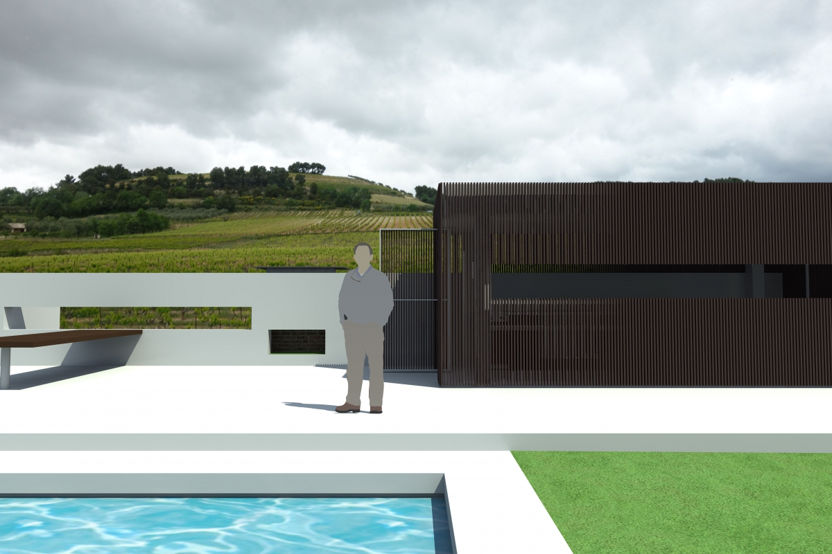 R alisation d 39 une piscine en b ton et de son pool house for Budget piscine beton